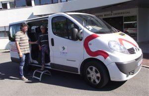 minibus de transport à la demande